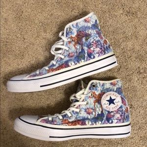 Floral Converse Hightops